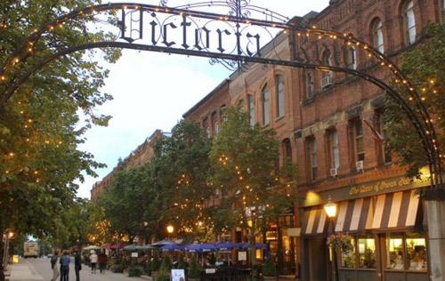 Visiting Victoria Row Charlottetown